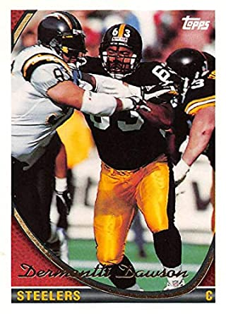 13be8f8f2 1994 Topps Football Card  178 Dermontti Dawson Pittsburgh Steelers Official  NFL Trading Card