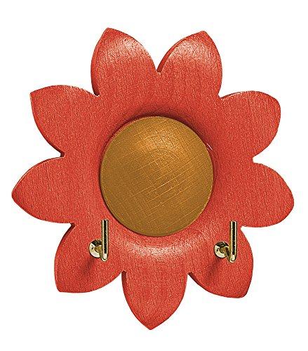 - Eliplast 820/13Hook, Wood, red, 10x 2.6x 10cm, 12Units