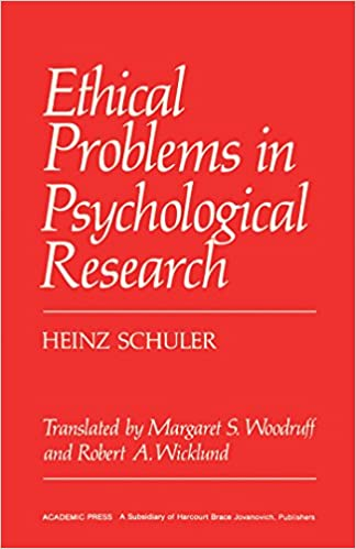 Libros en pdf descargables gratis en líneaEthical Problems in Psychological Research CHM B01DT29B9Q