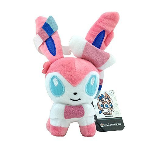 Generic Sylveon Nymphia Plush Intertwining Fairy Eevee Pokem