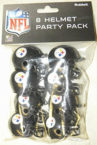 Riddell Pittsburgh Steelers Team Helmet Party Pack -
