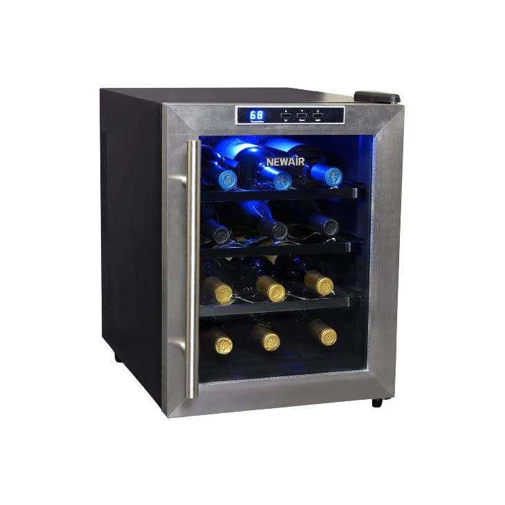 NewAir Thermoelectric Wine Cooler AW-121E 12-Bottle REVIEW