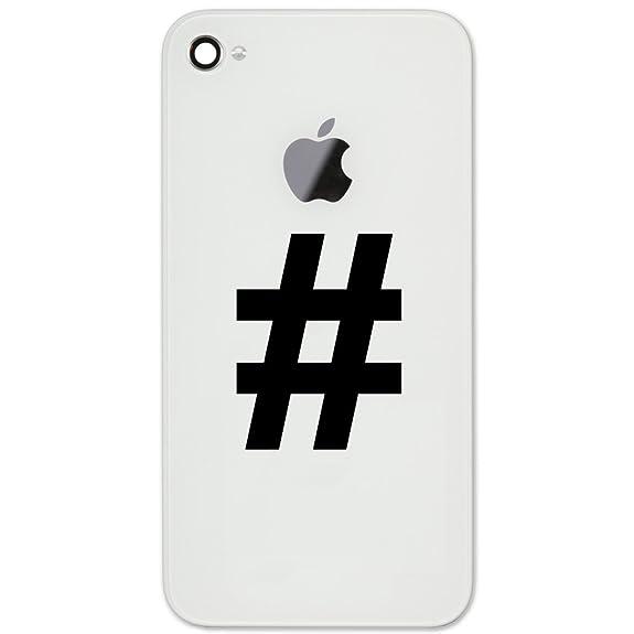 Amazon Pound Sign Hashtag Symbol Keyboard Character Vinyl Cell