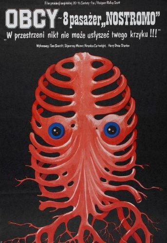 (Alien (1979) Polish Movie Poster 24
