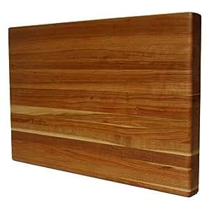 Bloques de Kobi Cherry Edge grano madera de bloque de carnicero Cortar 18x 28x 1,5de Kobi bloques