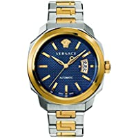 Versace Men's 'Dylos' Automatic Stainless Steel Casual Watch, Color:Two Tone (Model: VAG030016)