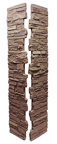 (NextStone Slatestone Split Post Cover 8x8x41 Brunswick Brown)