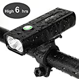 IPSXP Bike Light, USB Rechargeable Bicycle Cycling Headlight Bicycle Front Light Mountain Bike Light 1000 Lumen LED Flashlight with 3 Modes, IPX5, 2 Free Reflective Bands