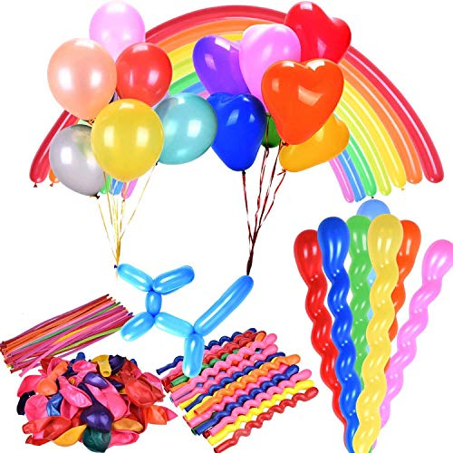 Party Balloons Assorted Color and 4 styles 12