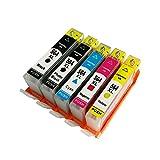 4 PK Ink Cartridge for HP 564XL for HP Photosmart 5510 5511 5512 5514 5515 5520 Printer