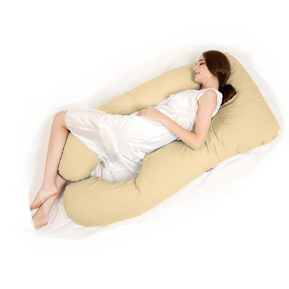 Amazon.com: gzyf Unique forma de U Full Body Apoyo Almohada ...
