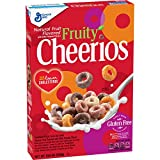 Fruity Cheerios, Cereal with Oats, Gluten Free, 10.6 oz
