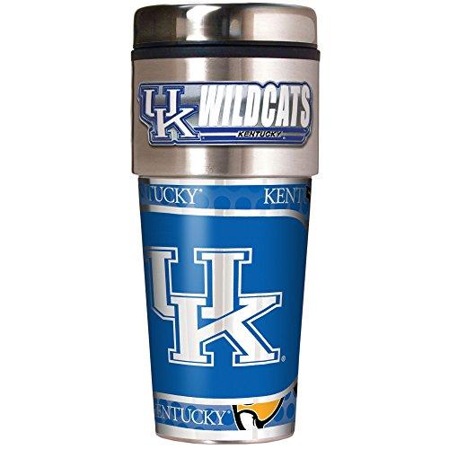 NCAA Kentucky Wildcats Metallic Travel Tumbler,  ()