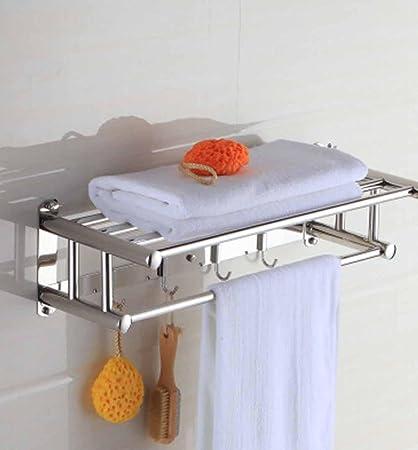 BBSLT-Elegante baño toallero, toallero, de acero inoxidable ...
