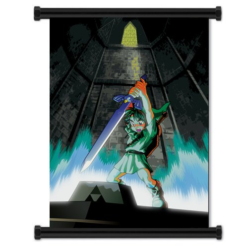 (Legend of Zelda: Ocarina of Time Game Fabric Wall Scroll Poster (32