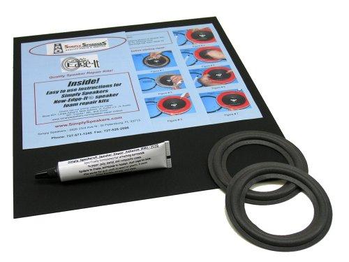 """Optimus Speaker Foam Edge Replacement Repair Kit, 4"""", FSK-4"""
