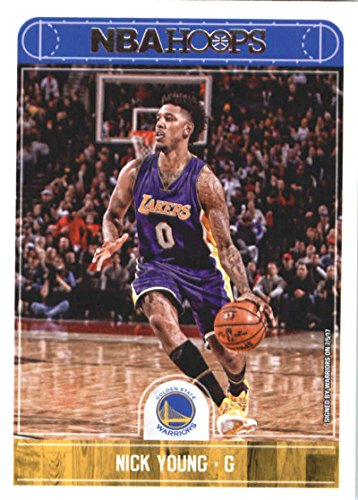 Basketball NBA 2017-18 Panini Hoops #110 Nick Young Warriors