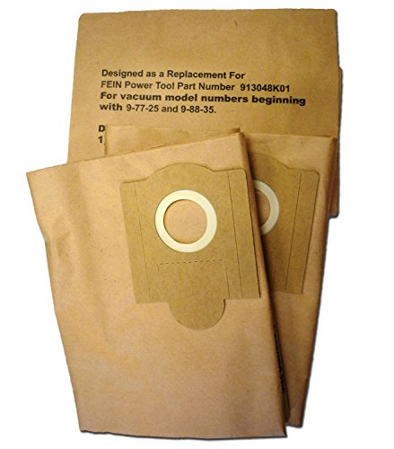 Fein Power Shop Vacuum Cleaner Turbo III Paper Bags for sale  Delivered anywhere in USA
