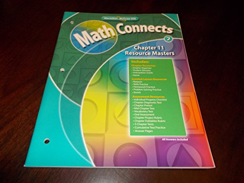 - Chapter 11 Resource Masters Book Math Connects Grade 2 Macmillan McGraw-Hill (Math Connects)