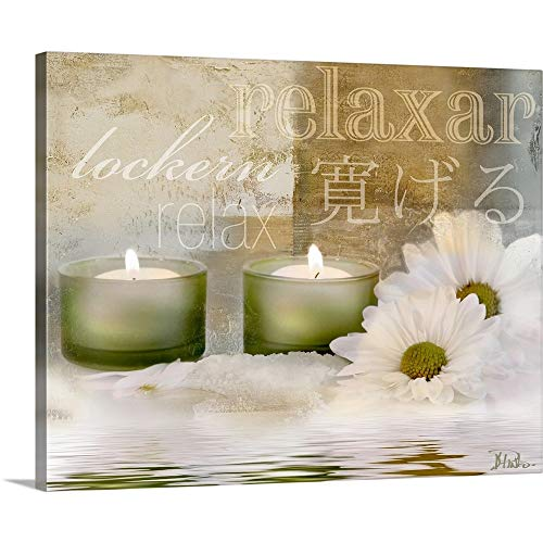 Relaxation I Canvas Wall Art Print, 20