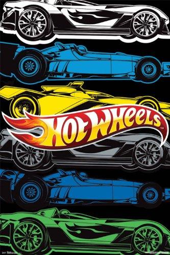 hotwheel wall posters
