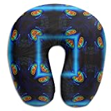 Multifunctional Neck Pillow Window U-Shaped Soft Pillows Convertible Portable For Reading,Sleeping On Airplanes,Train,Car,and Travel