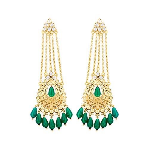 Voylla Noor-Jahan Jhoomar Danglers For Women