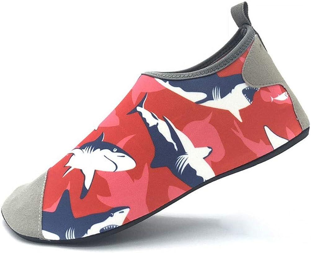 Water Shoes-Barefoot Quick Dry Sports Beach Swimming Snorkeling Aqua Yoga Socks Slip-on for Men Women Kids