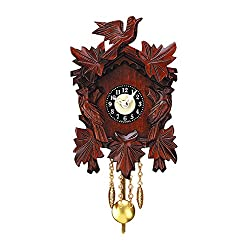 Alexander Taron Importer 738-8 Engstler Cuckoo Clock, Carved with 8-Day Weight Driven Movement