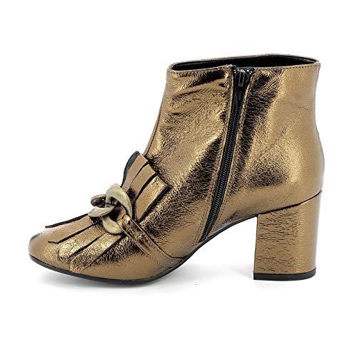 Donna By Alesya Bronzo Alti amp;scarpe Stivaletti Scarpe XwaRazxZ