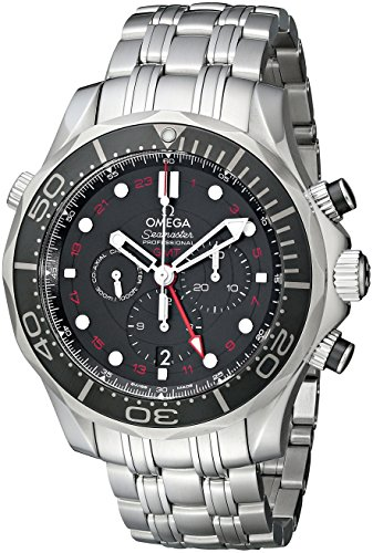 Automatic Omega Wrist Watch (Omega Men's 21230445201001 Seamaster Analog Display Automatic Self Wind Silver Watch)