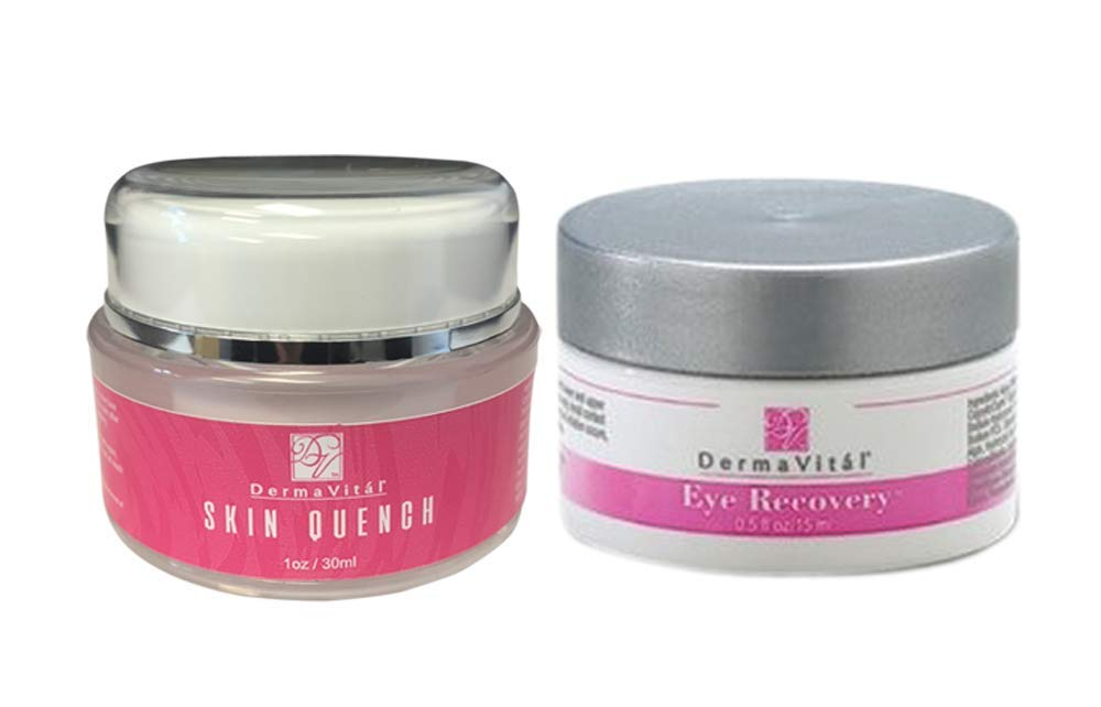 DermaVital Skin Quench & Eye Recovery - Improves Fine Lines & Wrinkles - By the Makers of DermaWand