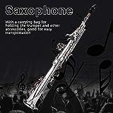 Brass Soprano Flat B Saxophone Straight Horn Sax