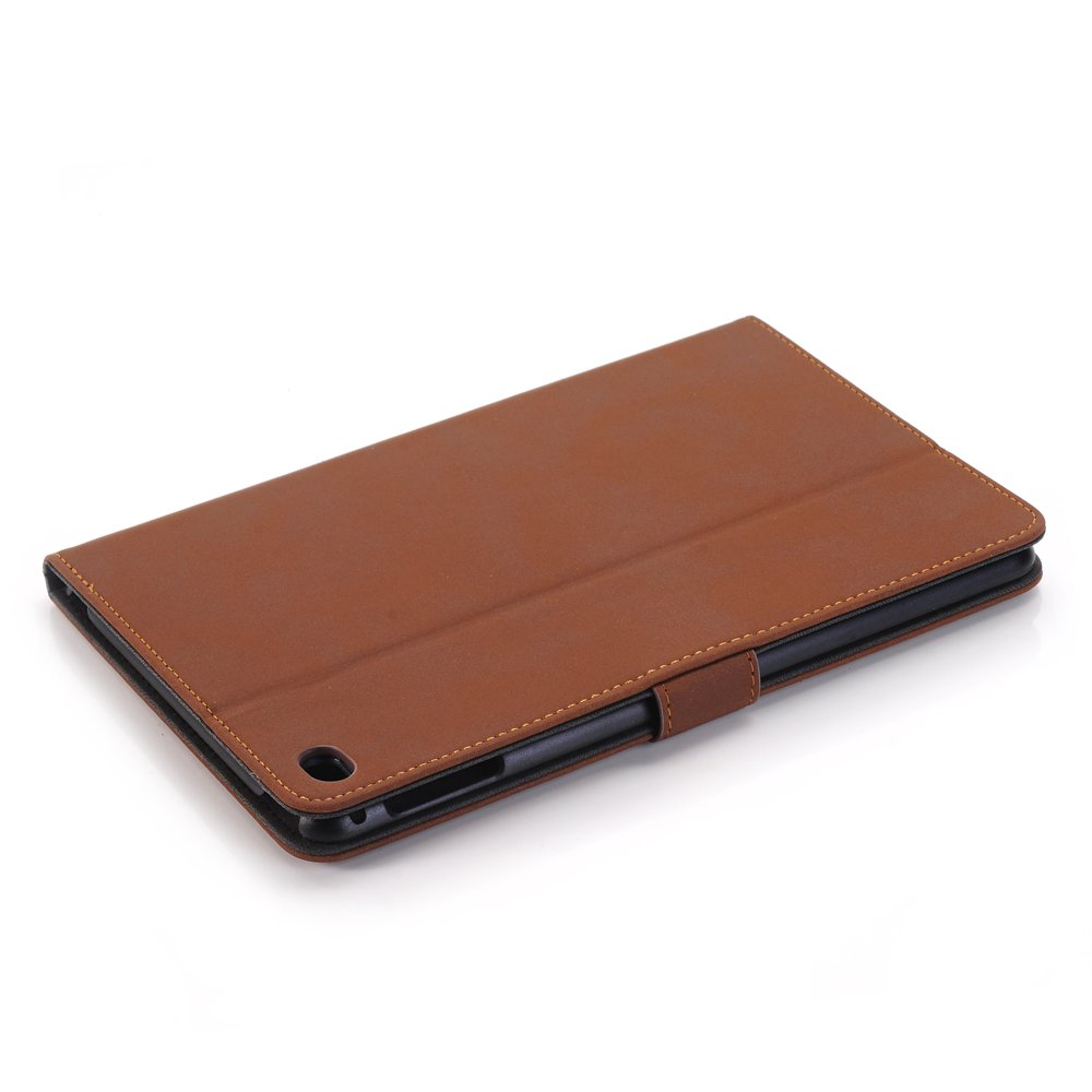 Mini iPad 5 Case 2019 Model, YiMiky Slim Folio Shell Smart Stand Case for 2019 Model iPad Mini 5 Ultra Slim Book Cover Protective Case for 7.9 Inch iPad Mini 5/ iPad Mini 4 2015 - Dark Brown by YiMiky (Image #7)