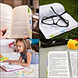 Decorative Bible Tabs Peel and Stick Colorful Bible Indexing Tabs for Bible Reading 72 Piece Old New Testament