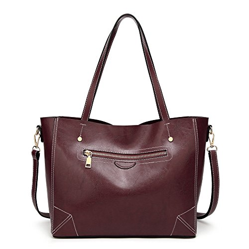 Bag Womens Womens Red Shoulder Bag Crossbody Stylish Stylish Leather Messenger 1U6vwXqUx