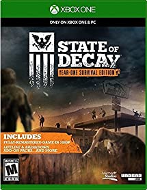 Amazon com: State of Decay- Year-One Survival Edition: xbox