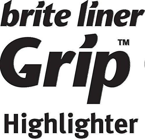Bic Brite Liner Highlighter with Rubber Grip, Chisel Tip, Assorted (BICBLMGP41ASST) Photo #6