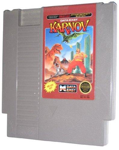 NES Karnov Video Game USED