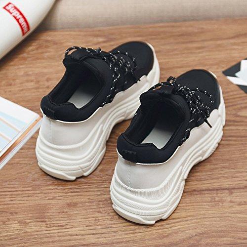 Versione Fuoco Ultra Nero No 55 Shoes Da Con Donna Coreana Studenti Plateau Sportive Per Invernali Scarpe Xiaolin axa6Yq0wS