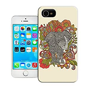 Unique Phone Case Animal painting patterns Bo the elephant Hard Cover for 4.7 inches iPhone 6 cases-buythecase