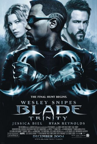(POSTER-BLADE: TRINITY ORIGINAL ROLLED MOVIE POSTER)