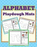 Alphabet Playdough Mats: Alphabet Activities to