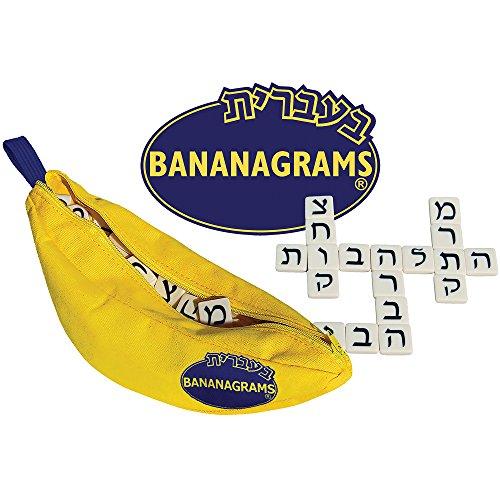 (Bananagrams Hebrew - Multi-Award-Winning Word and Language Game )