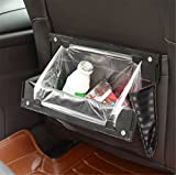 weighted car trunk organizer - Fochutech Car Litter Bag Back Seat Auto Garbage Trash Can Waste Storage Office Home Rubbish Bin For Vehicle Door Foldable Traveling With Four Clips
