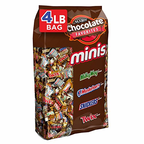MARS Chocolate Minis Size Easter Candy Bars Variety Mix 67.2-Ounce