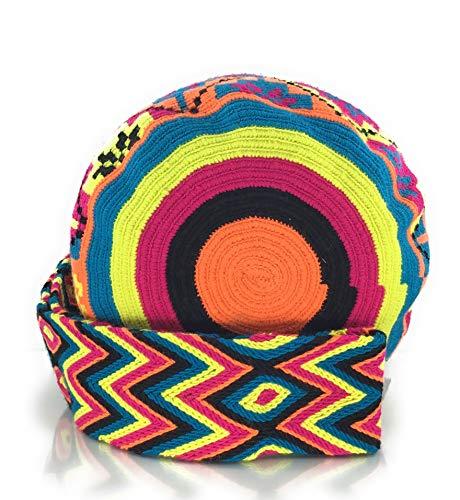 Mira motifs et pour les à avec les la femmes Sac dos hommes tribaux Wayuu STYLE colombiens des fois sacs à Alta à main COLOMBIAN gPFwqx
