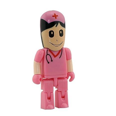 32GB Rosa enfermeras modelo memoria Stick pendrive unidad flash USB Pen Drive 8 GB pendrives tarjeta flash U disco USB unidad USB Flash Disk