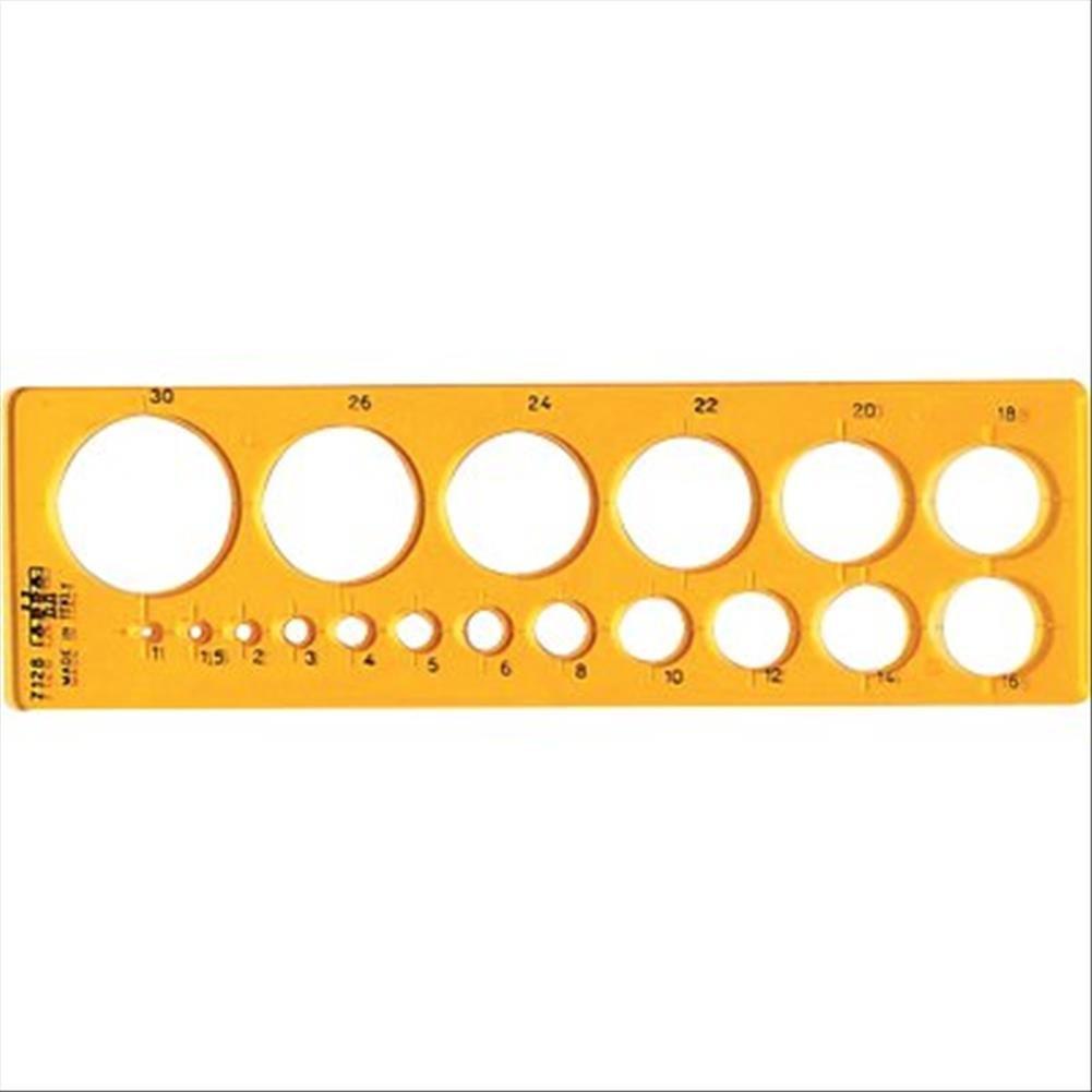 ARDA 7128 193mm Arancione righello