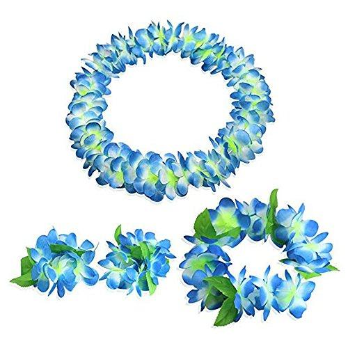 Hawaii Wreath Lei Party Favors 4pcs -